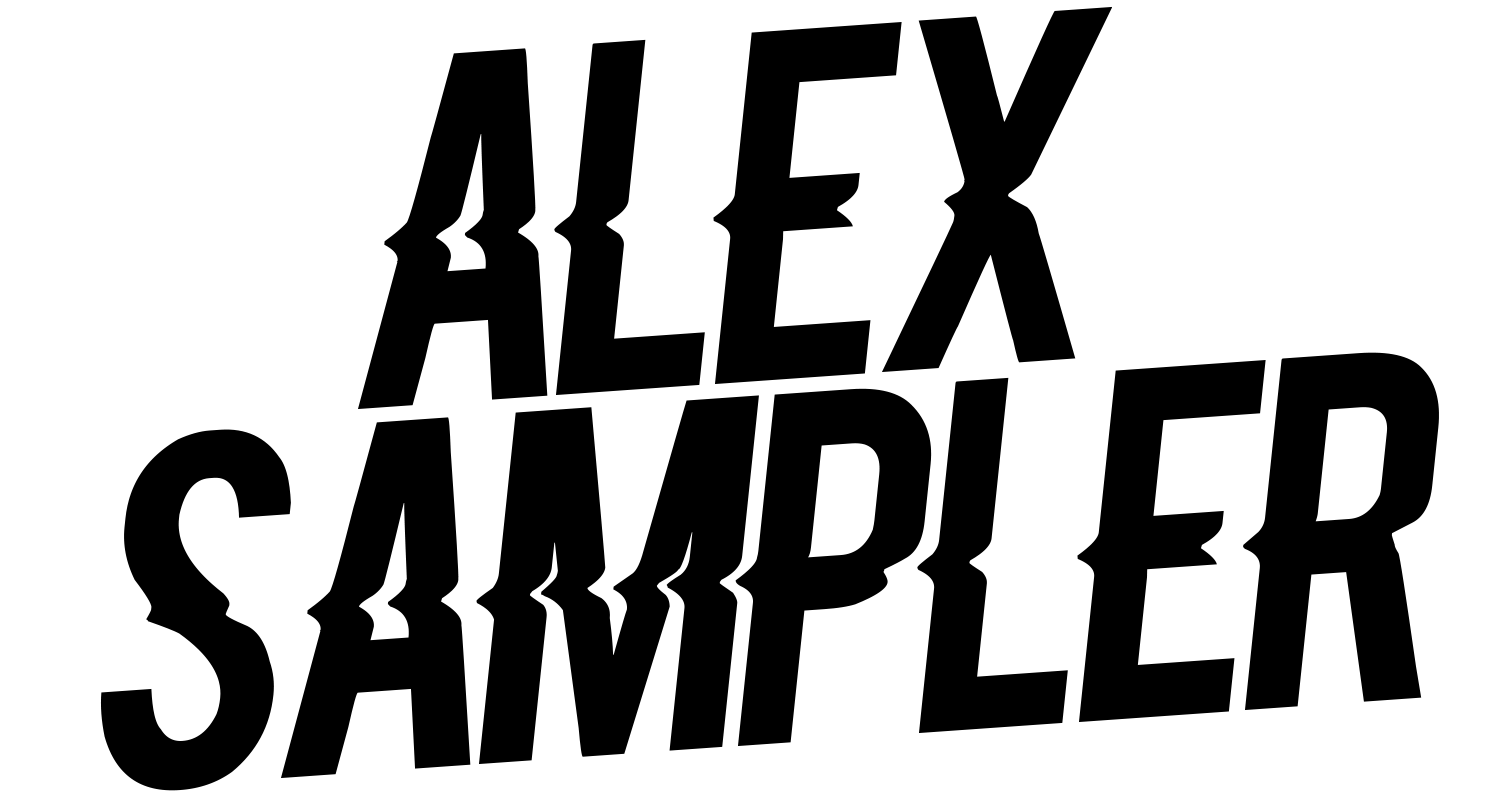 Alex Sampler Merch