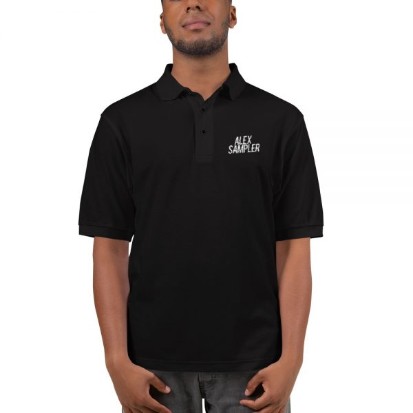 Embroidered Alex Sampler Polo Shirt