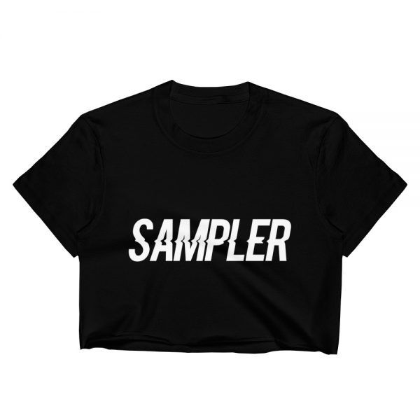 Sampler Crop Top