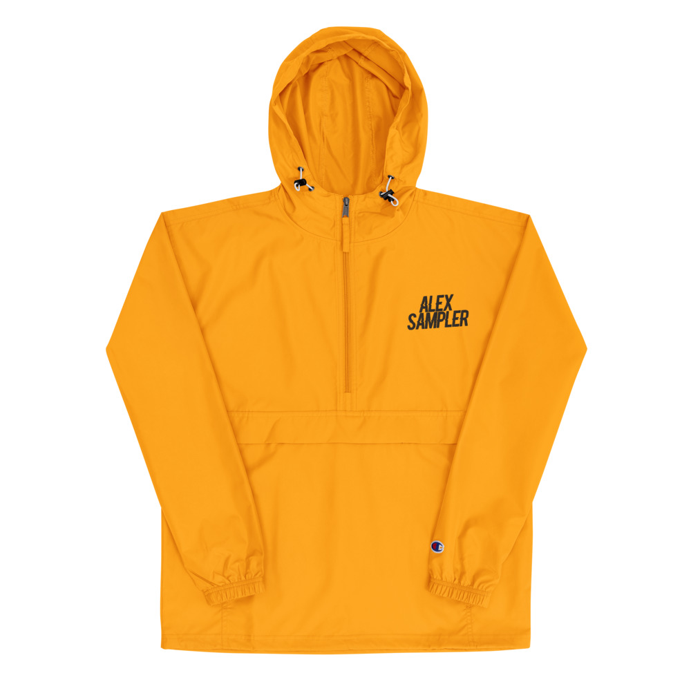 Alex Sampler Embroidered Champion Packable Jacket [LIMITED - GOLD]